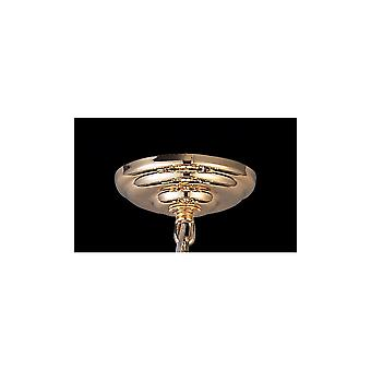 Diyas Ceiling Plate And Bracket French Gold