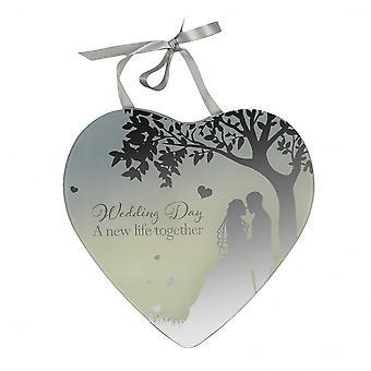 Widdop Bingham Wedding Day Mirror Plaque