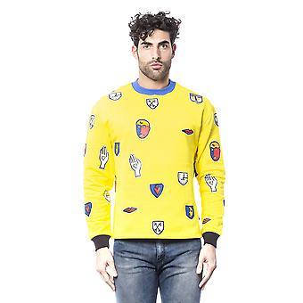 Yellow Castelbajac men's sweatshirt