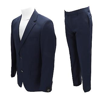 Bugatti 181000 Men's Suit Blue NEW Office Elegant