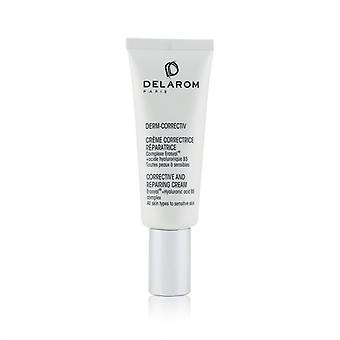 Delarom Corrective And Repairing Cream - For All Skin Types To Sensitive Skin - 40ml/1.33oz