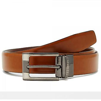 Ted Baker Crafti reversibel belte tan / brun