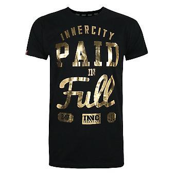 Innercity Pago em folha completa Impressão Men't-Shirt
