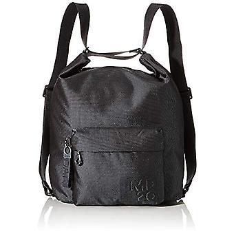 Mandarin Duck Md20 Black Woman Strap Bag (Steel) 29x20x8.5