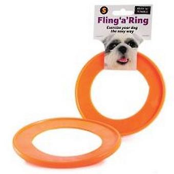 Sharples Ruff ´N´ Tumble Fling ´A´ Ring Dog Toy