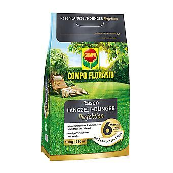 COMPO Floranid® lawn long-term fertilizer perfection, 10 kg