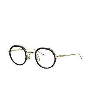 Thom Browne TBX911 01 Black-White Gold Glasses