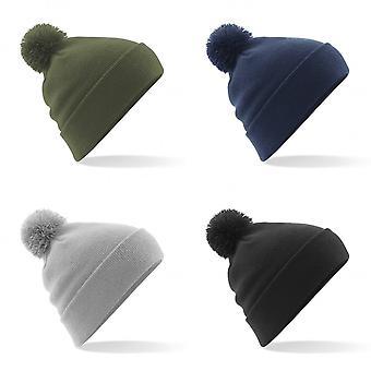Beechfield Unisex Original Pom Pom Winter Beanie Hat