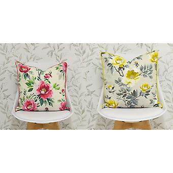 Furn Peony Contemporary Country Floral Cushion Cover