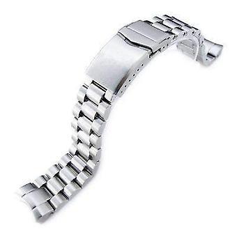 Strapcode watch bracelet 20mm endmill watch band for seiko sumo sbdc001, sbdc003, sbdc005, sbdc031, sbdc033, v-clasp