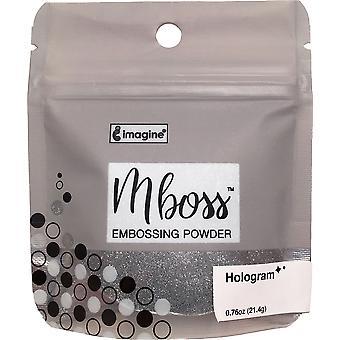 Imagine Mboss Embossing Powder - Hologram