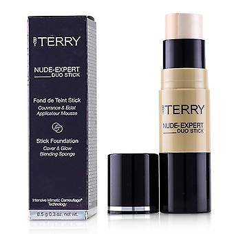 By Terry Nude Expert Duo Stick Foundation - # 1 Fair Beige - 8.5g/0.3oz
