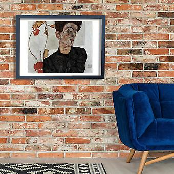Egon Schiele - The Glance Poster Print Giclee