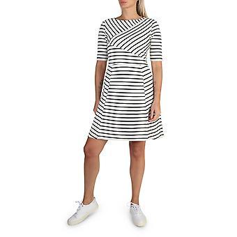 Tommy Hilfiger Original Frauen Frühling/Sommer Kleid - weiße Farbe 40745