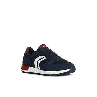 Geox Kids J Alben Boy D Lace Up Trainer