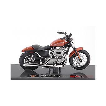 Maisto Harley Davidson 2007 XL 1200N Nightster Bronze 1:18