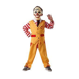 Bristol Novelty Childrens/Kids Dapper Clown Costume