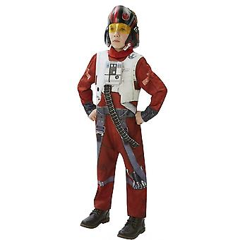 Star Wars Pojat Poe X-Wing Fighter Deluxe Puku