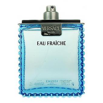 Versace man eau fraiche 3.4 oz eau de toilette spray tester