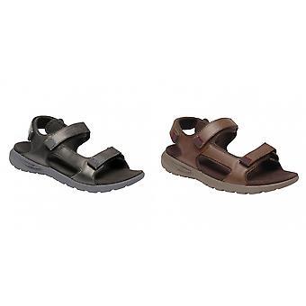 Regatta Mens Marine Leather Lightweight Sandals