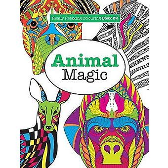 Really RELAXING Colouring Book 22Animal Magic by James & Elizabeth