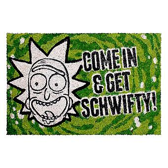 Rick et Morty, paillasson-Get schwifty