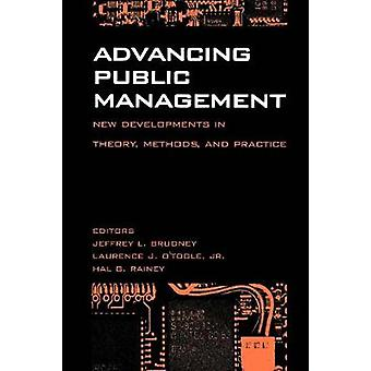 Advancing Public Management - New Developments in Theory - Methods - a