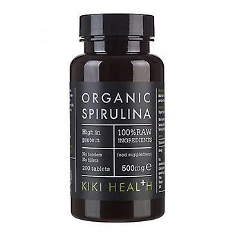 KIKI Health organische spirulina-tabletten 200