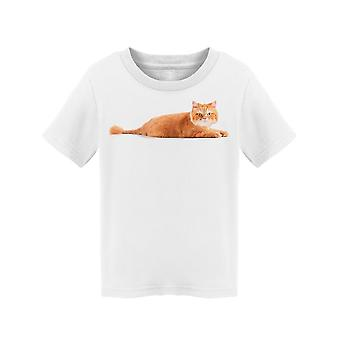 Cute Red Persian Lying Attentive Tee Toddler's -Image by Shutterstock
