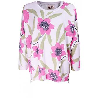 A Postcard from Brighton Fern Floral Print Top