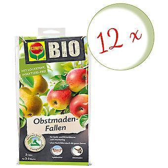 Sparset: 12 x COMPO BIO Fruit Made Traps, 2 pieces