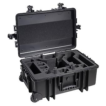 B&W Copter Case Type 6700 per DJI Phantom Multicopter, Nero per DJI Phantom 2