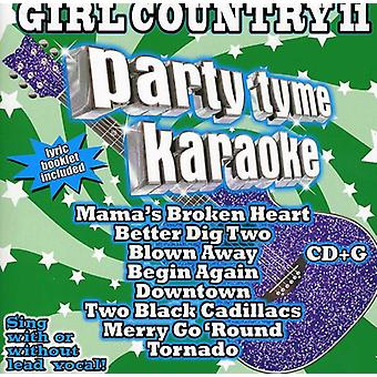 Party Tyme Karaoke - Girl Country 11 [CD] USA import