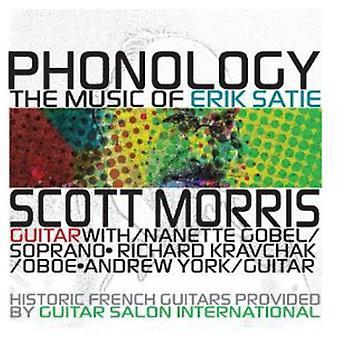 E. Satie - fonologie: De muziek van Erik Satie [CD] USA import