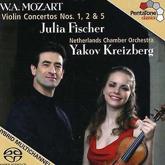 W.a. Mozart - Mozart: Violin Concertos Nos 1, 2, 5 [SACD] USA import