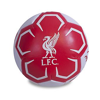 Liverpool FC officiella Crest Design 4 tum Mini mjuk boll