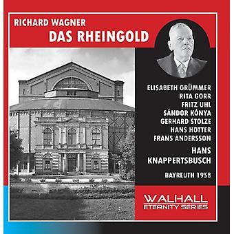 Wagner, R. / Hotter / Konya / Grummer - Das Rheingold [CD] USA import