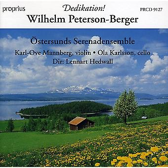 W. Peterson-Berger - Wilhelm Peterson-Berger: Dedikation! [CD] USA import