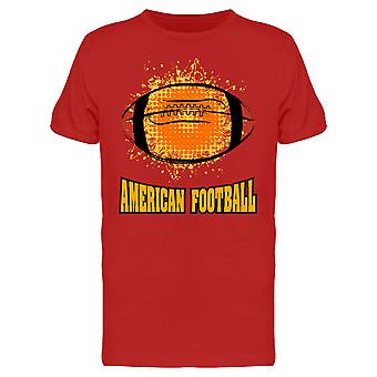 Grunge American Football Tee Men's -Image by Shutterstock