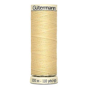 Gutermann Ommella-all 100 % Polyesteri Thread 100m Käsi ja kone värikoodi - 325