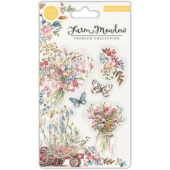 Craft Consortium Florals Clear Stamps