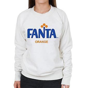 Fanta 1970 retro logo kvinnors Sweatshirt