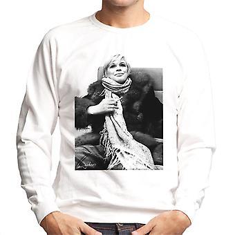 Sweatshirt Interview de Marianne Faithfull Londres 1974 masculine