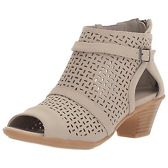 Easy Street Womens Carrigan Peep Toe moda de tornozelo botas