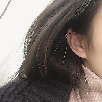 Μύτη-δαχτυλίδι και αυτί χόνδρου σκουλαρίκι-χρυσό