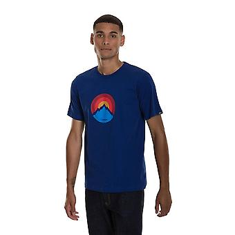 Berghaus Men's Modern Mountain Logo Camiseta Azul
