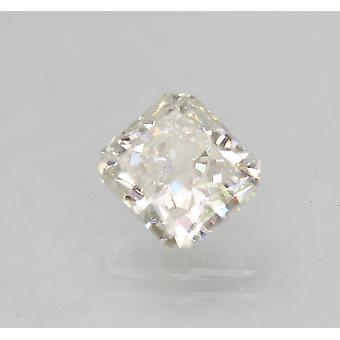 Zertifiziert 1.06 Carat E SI2 Radiant Enhanced Natural Loose Diamond 5.84x5.41m 2VG