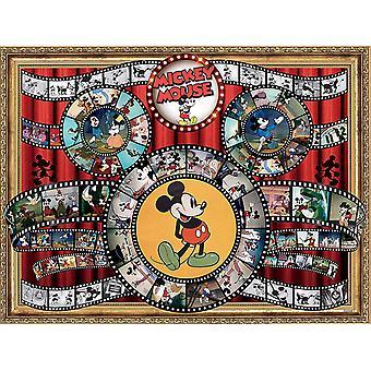 Puzzle - Ceaco - Disney Mickey Mouse Movie Reel 1500pcs New 3402-5