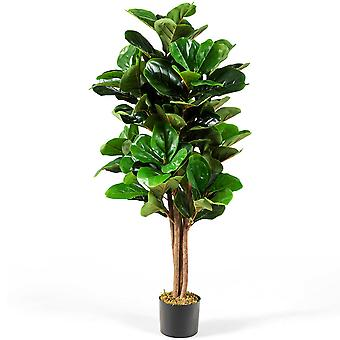 Artificial Palm Tree Realistic Fake Tropical Plant In/Outdoor Decoration 120CM