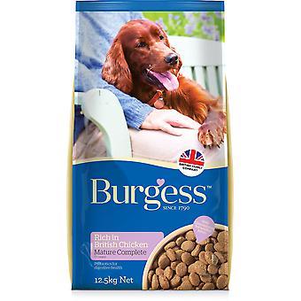 Burgess Mature Dog - Poulet - 12.5kg